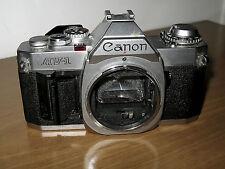FOTOCAMERA VINTAGE ANALOGICA CANON AV-1 DA PEZZI DI RICAMBIO/NON FUNZIONANTE
