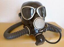 Gasmaske russ. GP7 mit 2 Gasmaskenschläuchen und Trinkschlauch