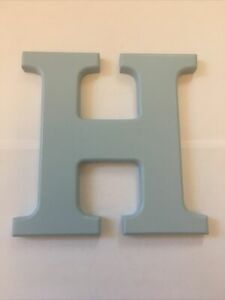Personalised Decorative Wooden Initial 'H' - unbranded - Excellent Used