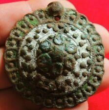 Ancient bronze rare buckle 13-14 century