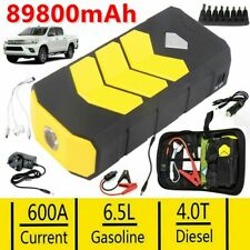 89800mAh Car Jump Starter Portable USB Quick Charger 12V Auto Battery Booster UK
