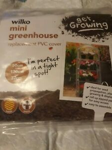 wilko mini greenhouse replacement pvc cover.