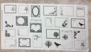 Quilt Labels 100% Cotton Fabric 21 labels