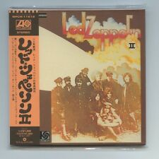 """LED ZEPPELIN """"II"""" 2 Japan Rare Out of Print OOP Mini-LP CD Brand New Sealed"""
