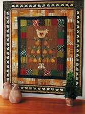 """Partridge In A Pear Tree    Finished Size:51""""x59""""     Quilt  (Pattern Only)"""
