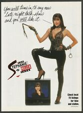 The Stephanie Miller Show - 1995 Print Ad