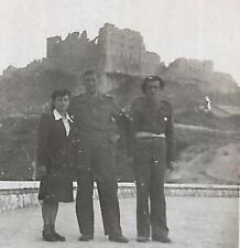 WW2 WWII POLISH POLAND ARMY PHOTO SOLDIER IN CASSINO