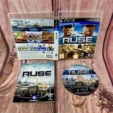R.U.S.E Move Compatible PS3 Playstation 3 Games PERFECT DISC ruse dont believe