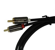 RCA Cable 6 Foot SilentSoundSystem Branded and Catalog