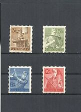 German Reich, 1943 Michel numbers: 850 - 853 **, Mint, catalogue value £ 5,00