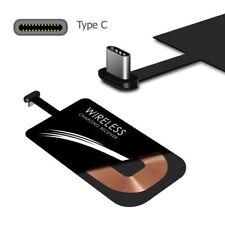 Adaptador Cargador Receptor de Carga Qi Inalambrico Tipo-C Universal
