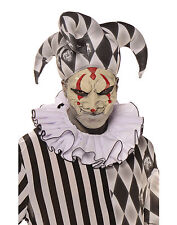 Evil Jester Mask Adult Male Halloween Costume Accessories - One Size