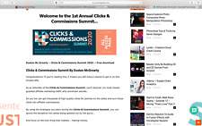 Clicks & Commissions Summit 2020 Discover my Most Guarded Affiliate Mktg Secrets