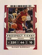 DeMar DeRozan 2020-21 Contenders Draft Picks Prospect Ticket Variation #49 USC