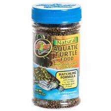 LM Zoo Med Natural Aquatic Turtle Food - Hatchling Formula (Pellets) 1.9 oz