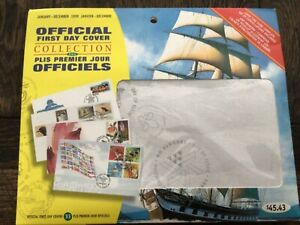Unopened Canada Stamp FDCs 1999 packet