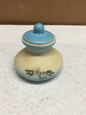 Vintage Ceramic Round Bottom Small Jar With Lid