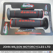 Ducati 748 749 848 916 996 998 998 999 1098 1198 Red Domino Closed End Grips