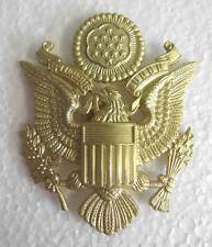 USAAF Cap Badge Officer WWII Visor Peaked AAF US Army Air Force WW2 Eagle New