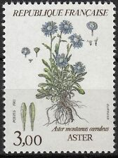 FRANCE TIMBRE NEUF  N° 2268  ** FLORE  ASTER MONTANUS COERULEUS
