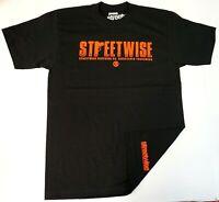 STREETWISE MAFIOSO T-shirt Urban Streetwear Tee Men's Black New