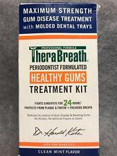 TheraBreath Healthy Gums Treatment Kit NEW OPEN BOX EXP. 04/2020