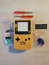 Kit complet coque + vitrePokémon PIKACHU - Game Boy Color GBC Shell Case