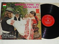 SANDOR LAKATOS-DEKI-Springtime In Hungary (1973) APON LP