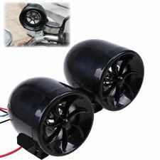 ATV Bike Motorcycle 12V Black MP3 Player FM Radio Speakers Audio with Remote New