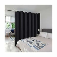 Room Divider Curtain Screen Partitions - Nicetown Blackout Wide Width Window NEW