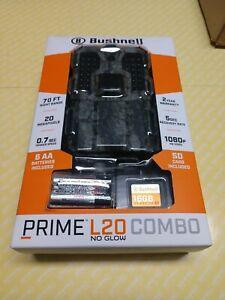 Bushnell Prime L20 Combo No Glow 20 Megapixel 70 Ft. Night Range Trail Camera