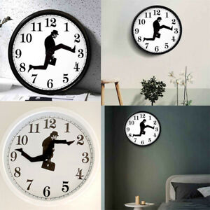 Silly Walk Wall Clock Comedian British Comedy Inspired Ministry of Home Decor