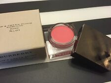 Burberry Lip & Cheek Bloom Blushing Couleurs 01 ROSE BNIB blusher lip tint