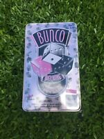 Deluxe Bunco Game in Tin Container - NEW