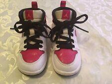 Nike shoes-Boys/Girls-Size 6C-Nike Air Jordan 1-retro hightop-basketball-white