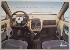 LIGIER NOVA Microcar orig 2002 2003 French Mkt Sales Brochure - 500 650 Zenith