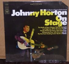 Johnny Horton ON STAGE SEALED vinyl LP record cut out