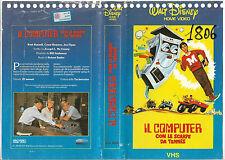 IL COMPUTER CON LE SCARPE DA TENNIS (1969) vhs ex noleggio