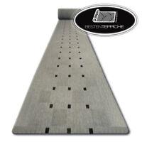 Moderne Läufer SISAL FLOORLUX Quadrate Silber Grau Breite 70 - 200 cm Modisch
