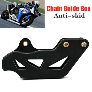 Scooter Motorcycle Chain Guide Box Protective Anti Skid Chains Device Gear Cover