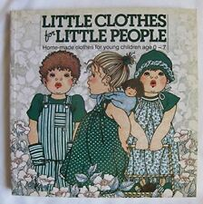 Steenderen, Lia Van, Little Clothes for Little People (Crafts), Very Good, Paper