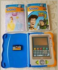 Vtech Storio Interactive Reading System Includes 3 Book Cartridges Disney
