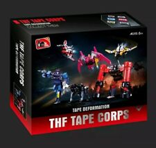 THF-01 Soundwave Tape Corps 6PCS Transformers Masterpiece US Seller NEW MP-13!!