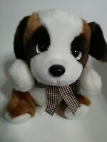 "Unbranded Brown And White Dog  9"" Plush Stuffed Animal"