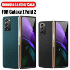 For Samsung Galaxy Z Fold 2 5G Luxury Shockproof Hybrid Leather Hard Case Cover