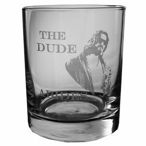 Designer Rocks Glass - The Dude Abides Rocks Glass Lowball