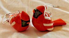 Ceramic Cardinal Ornament Sets