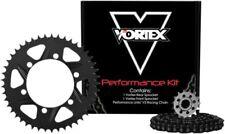 Vortex CK6347 Chain & Sprocket Kit 520RV3 Custom Replacement Chain Kit 45