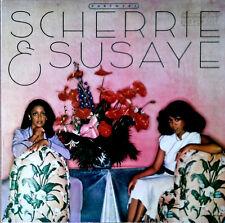 SCHERRIE & SUSAYE - PARTNERS - MOTOWN LABEL - PROMO STAMP - 1979 LP