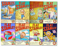 The Flat Stanley Adventure Series 8 Books Collection Set (The Big Mountain Adven